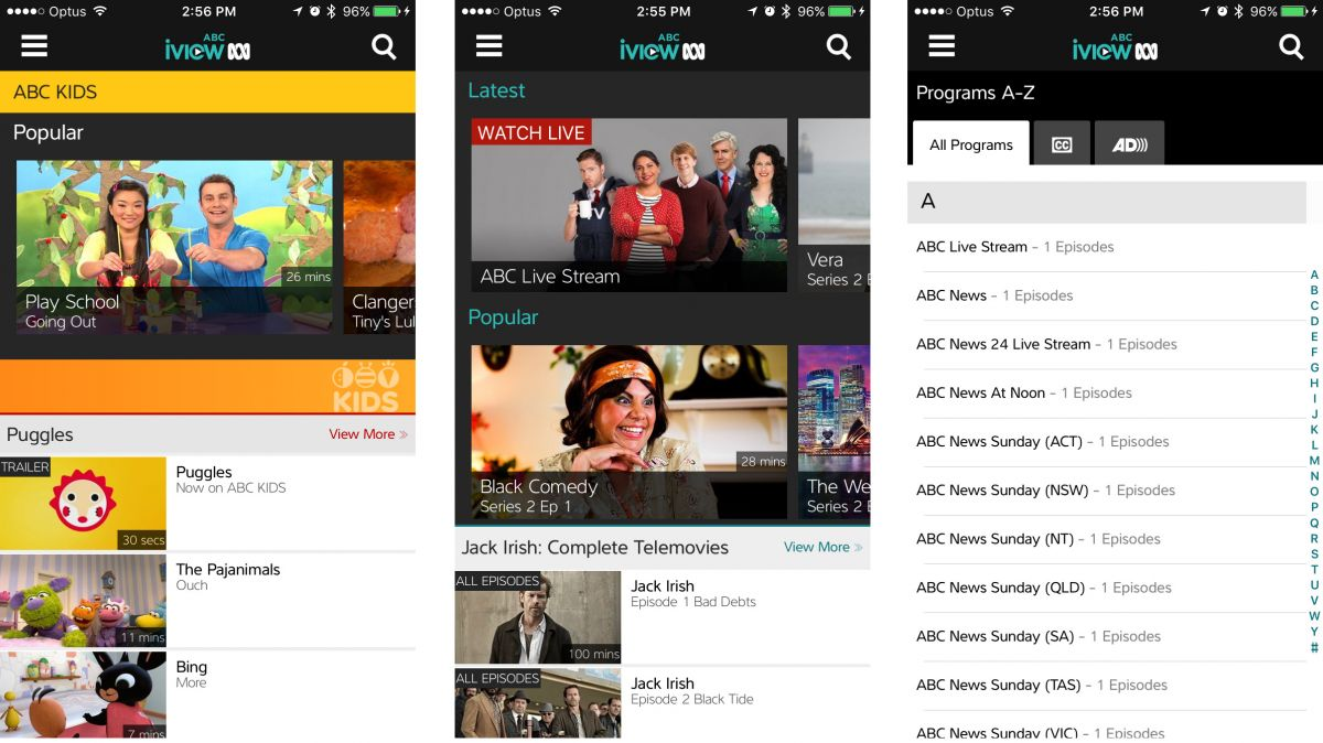 Best free iPhone apps ABC iview