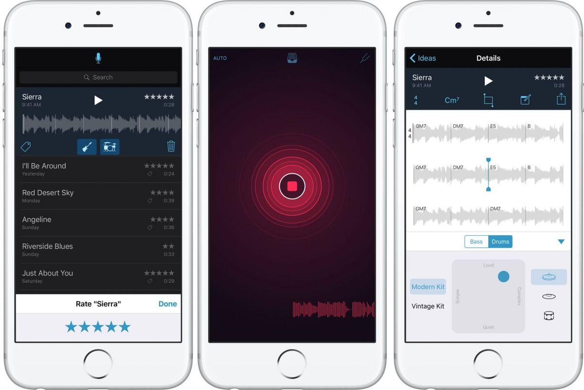 Best free iOS apps Music Memos
